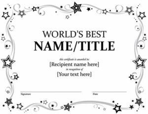 20 Best Free Microsoft Word Certificate Templates (Downloads within Honor Certificate Template Word 7 Designs Free