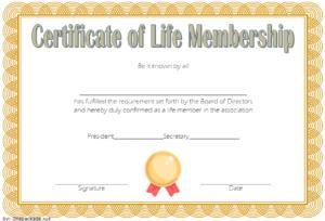 20+ Certificate Of Membership In An Organization Templates Free regarding Unique Membership Certificate Template Free 20 New Designs