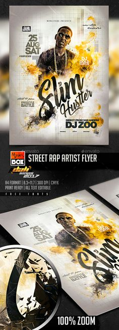 20+ Grunge Ideas | Flyer, Flyer Template, Concert Flyer throughout New Hip Hop Certificate Template 6 Explosive Ideas