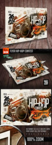 20+ Grunge Ideas | Flyer, Flyer Template, Concert Flyer with regard to New Hip Hop Certificate Template 6 Explosive Ideas
