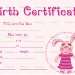 22+ Birth Certificate Templates – Editable & Printable Designs Throughout Quality Pet Birth Certificate Template