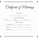 22+ Editable Marriage Certificate Templates (Word And Pdf Inside Quality Marriage Certificate Editable Template