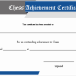 23 Free Printable Chess Certificates You Can Use For Chess In Unique Chess Tournament Certificate Template Free 8 Ideas