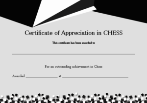 23 Free Printable Chess Certificates You Can Use For Chess inside Unique Chess Tournament Certificate Template Free 8 Ideas