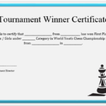23 Free Printable Chess Certificates You Can Use For Chess Pertaining To Unique Chess Tournament Certificate Template Free 8 Ideas