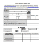 23+ Health Certificate Form Templates – Pdf, Docs | Free For With Regard To Veterinary Health Certificate Template