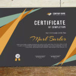 25+ Best Certificate Design Templates: Awards, Gifts Pertaining To Best Handwriting Certificate Template 10 Catchy Designs