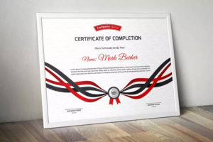 25+ Best Certificate Design Templates: Awards, Gifts pertaining to Handwriting Certificate Template 10 Catchy Designs
