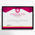 25+ Best Certificate Design Templates: Awards, Gifts Regarding Volunteer Of The Year Certificate 10 Best Awards