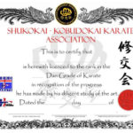 26 Awesome Karate Certificate Template Images | Certificate with New Karate Certificate Template