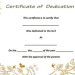 26 Free Fillable Baby Dedication Certificates In Word Inside Quality Free Fillable Baby Dedication Certificate Download