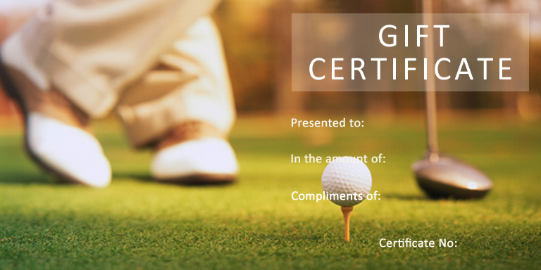 27 | Gift Certificate Templates | Gift Certificate Factory regarding Best Golf Gift Certificate Template