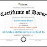 27 Printable Award Certificates [Achievement, Merit, Honor In Honor Award Certificate Template