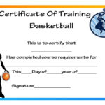 27 Professional Basketball Certificate Templates – Free Pertaining To Fresh Basketball Tournament Certificate Template