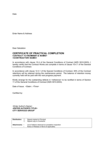 28+ [ Practical Completion Certificate Template Uk within Quality Practical Completion Certificate Template Uk