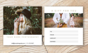 29+ Printable Gift Certificate Templates – Free & Premium throughout Free Photography Gift Certificate Template
