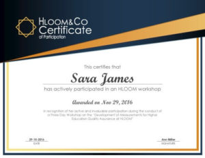 3 Free Certificates Of Participation Templates   Hloom within Conference Participation Certificate Template