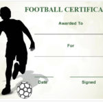 30 Free Printable Football Certificate Templates – Awesome With New Youth Football Certificate Templates