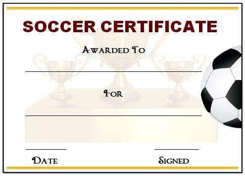 30 Soccer Award Certificate Templates - Free To Download regarding New Soccer Achievement Certificate Template