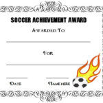 30 Soccer Award Certificate Templates – Free To Download With Best Soccer Certificate Template