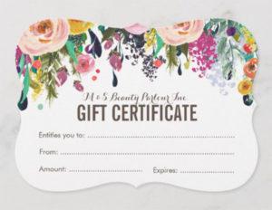 31+ Hair Salon Gift Voucher Templates – Free & Premium Psd inside Hair Salon Gift Certificate Templates