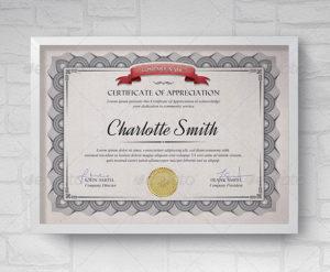 35 Best Certificate Template Designs – Bashooka inside New Design A Certificate Template
