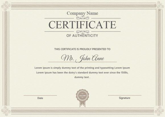 37 Certificate Of Authenticity Templates (Art, Car with regard to Photography Certificate Of Authenticity Template