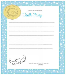 37 Tooth Fairy Certificates & Letter Templates – Printable in Unique Free Tooth Fairy Certificate Template