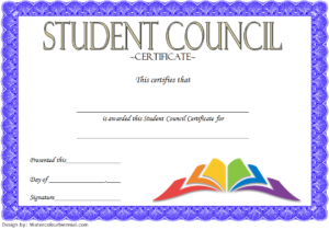 3Rd Student Council Award Certificate Template Free inside New Student Council Certificate Template Free