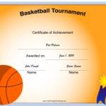 4 Sample Basketball Tournament Certificate Templates In Basketball Tournament Certificate Template