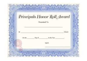 40+ Honor Roll Certificate Templates & Awards – Printable in Editable Honor Roll Certificate Templates