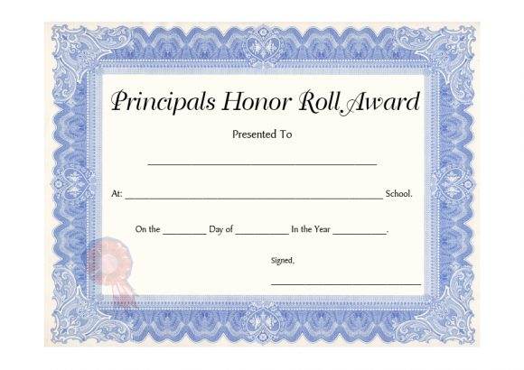 40+ Honor Roll Certificate Templates & Awards - Printable in Editable Honor Roll Certificate Templates