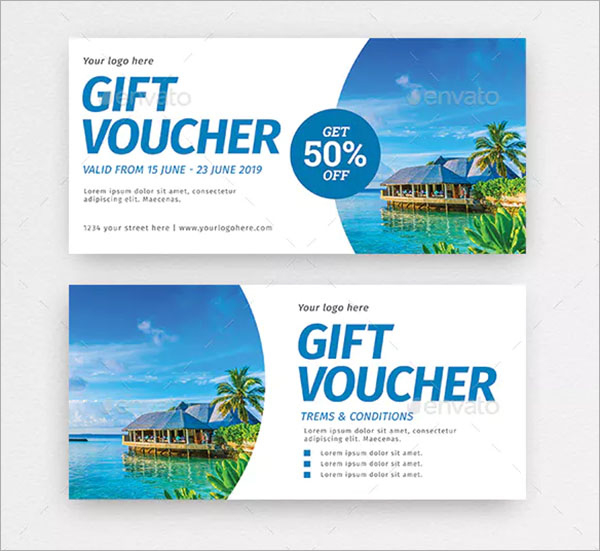 40+ Travel Gift Voucher Templates - Free & Premium Psd Eps in Travel Gift Certificate Editable