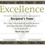 404 – Categoría No Encontrada | Awards Certificates Template Within Award Of Excellence Certificate Template