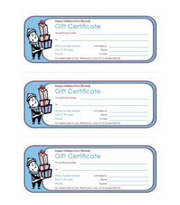 41 Free Gift Certificate Templates In Ms Word And In Pdf Format For Holiday Gift Certificate Template Free 10 Designs