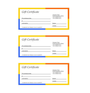 41 Free Gift Certificate Templates In Ms Word And In Pdf Format throughout Free 24 Martial Arts Certificate Templates 2020