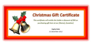 41 Free Gift Certificate Templates In Ms Word And In Pdf Format with Fresh Printable Gift Certificates Templates Free