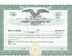 41 Free Stock Certificate Templates (Word, Pdf) – Free for Editable Stock Certificate Template