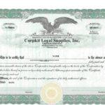 41 Free Stock Certificate Templates (Word, Pdf) - Free throughout New Stock Certificate Template Word