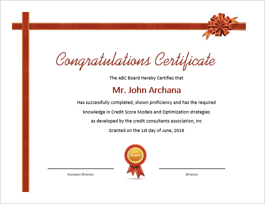 5 Beautiful Ms Word Certificate Templates | Office Templates pertaining to Unique Congratulations Certificate Word Template