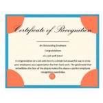50 Free Certificate Of Recognition Templates – Printable For Certificate Of Job Promotion Template 7 Ideas
