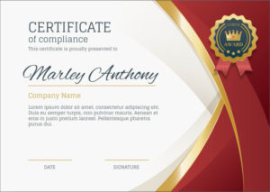 50 Free Creative Blank Certificate Templates In Psd intended for Powerpoint Certificate Templates Free Download