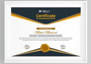 50 Multipurpose Certificate Templates And Award Designs For in Best Chef Certificate Template Free Download 2020