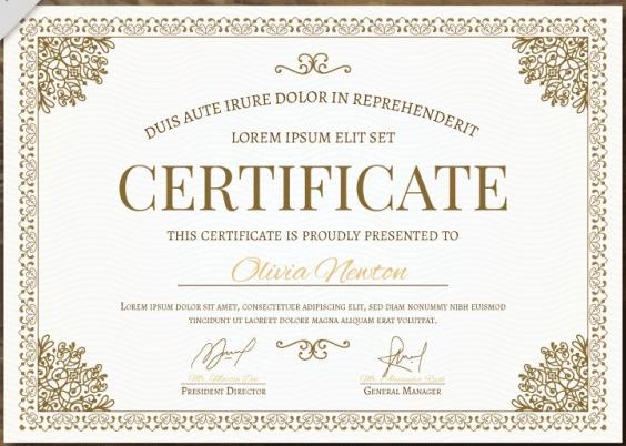 50 Multipurpose Certificate Templates And Award Designs For intended for Chef Certificate Template Free Download 2020