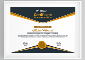 50 Multipurpose Certificate Templates And Award Designs For with Best Professional Certificate Templates For Word