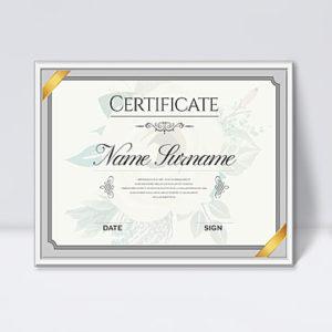 50+ Perfect Vintage Elegant Certificate Template Template for Hip Hop Certificate Template 6 Explosive Ideas