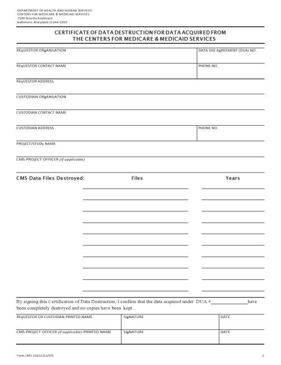 52 Useful Certificates Of Destruction (& Examples for Certificate Of Disposal Template