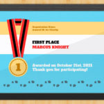 5K Certificate – Finish Lineaward Hut In Fresh 5K Race Certificate Template