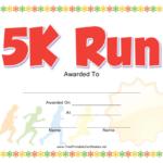 5K Run Award Certificate Template Download Printable Pdf For 5K Race Certificate Template