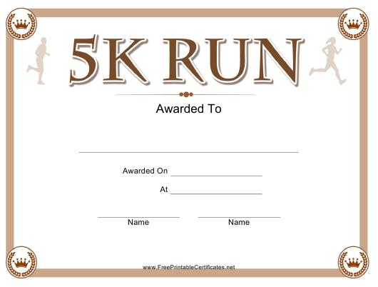 5K Run Certificate Template Download Printable Pdf with regard to Fresh 5K Race Certificate Template